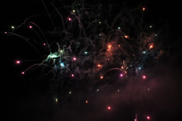 Le feu d'artifice de 2015