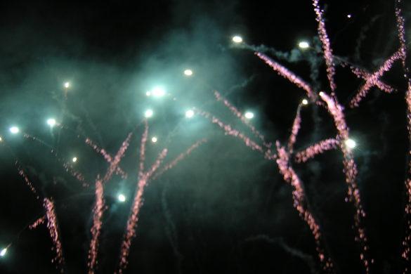 Le feu d'artifice de 2005