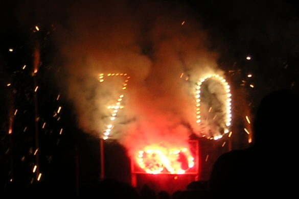 Le feu d'artifice de 2005