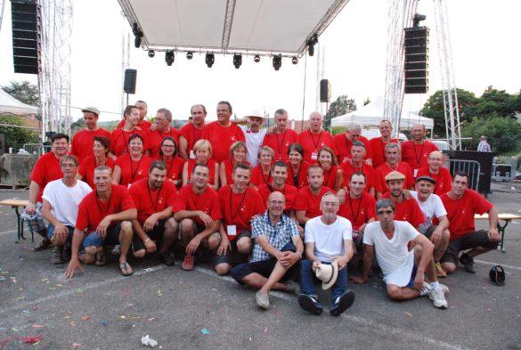 L'équipe du Comité des Fêtes de Bessenay de 2015